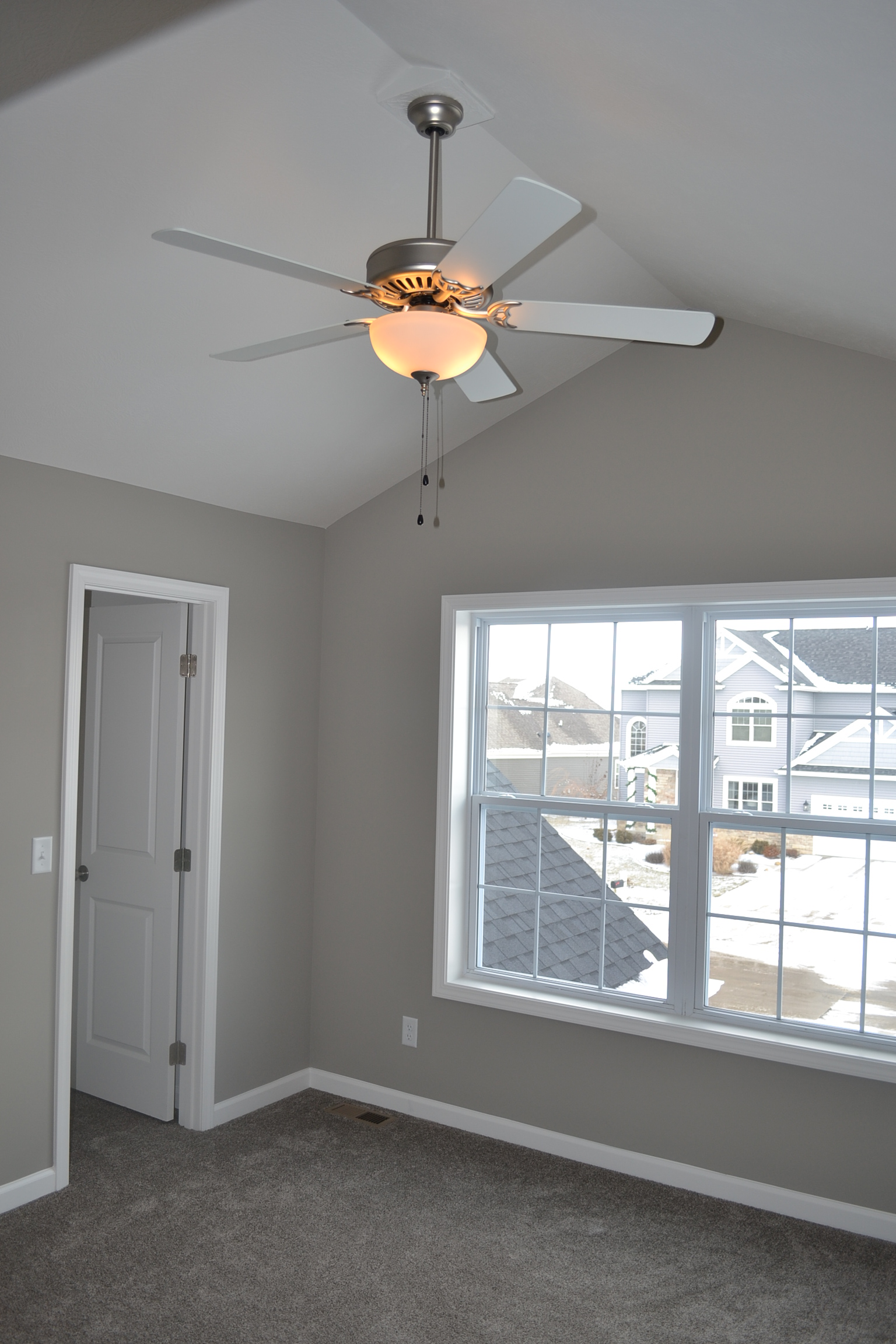 New Home in Champaign with ceiling fans