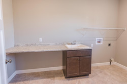 1815 Pfitzer laundry room in Normal IL home for sale
