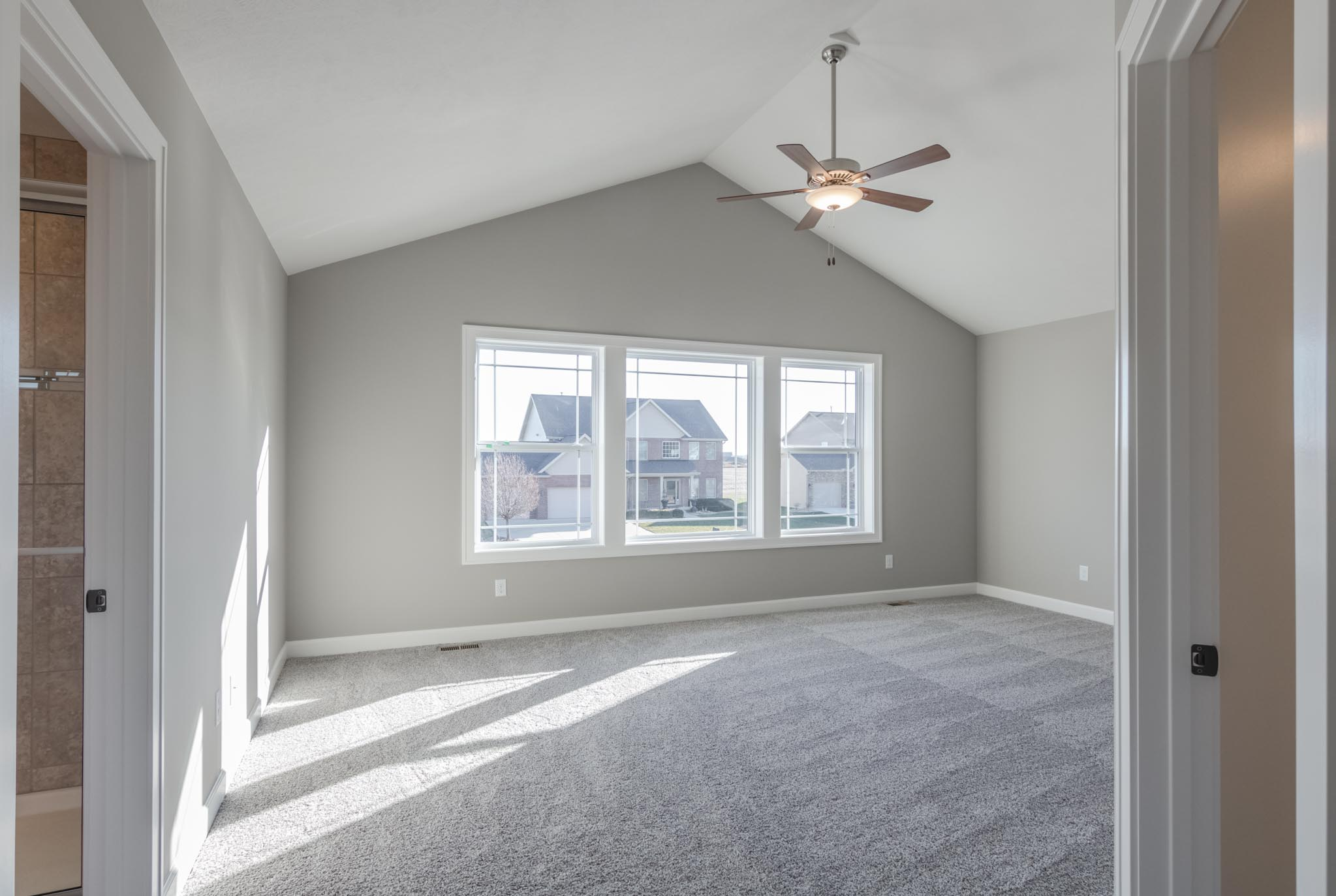 1815 Pfitzer master bedroom in Normal IL home for sale