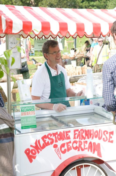 Rowlestone Farmhouse icecream