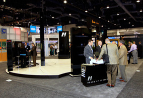 Heads Up Unveils new Cabin Management System & Trade Show Booth at NBAA2011