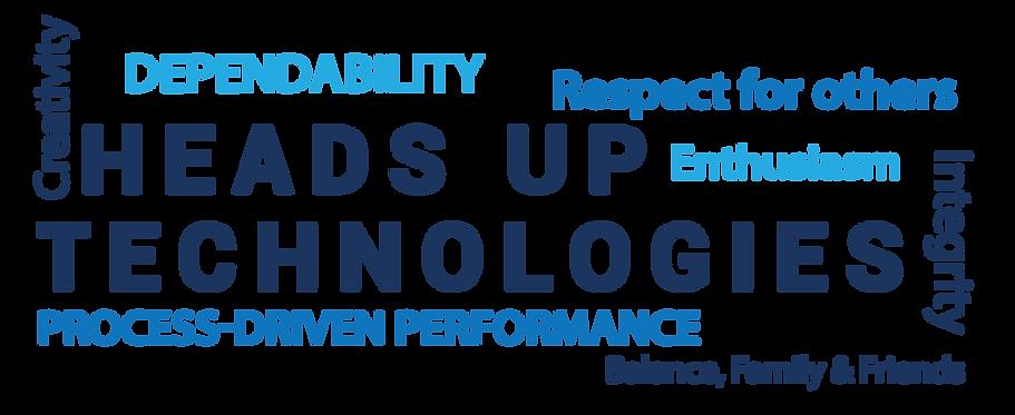 Heads Up Technologies Company Values