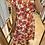 Thumbnail: Robe asymétrique fleurie rouge
