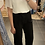 Thumbnail: Pantalon fluide noir