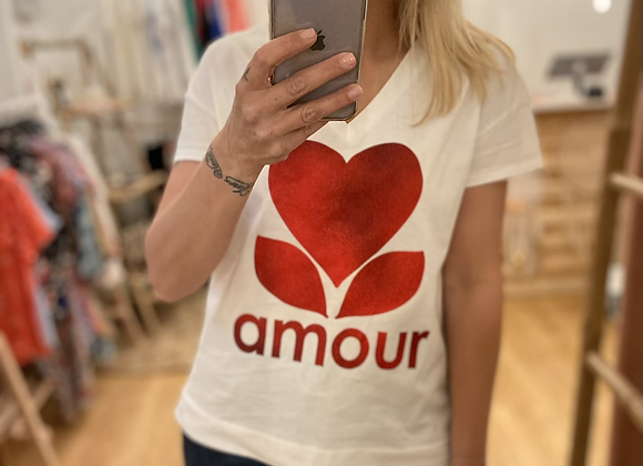 T-shirt AMOUR rouge