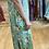 Thumbnail: Robe longue fleurie verte