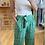 Thumbnail: Pantalon fluide vert émeraude