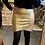 Thumbnail: Jupe croisée gold irisé