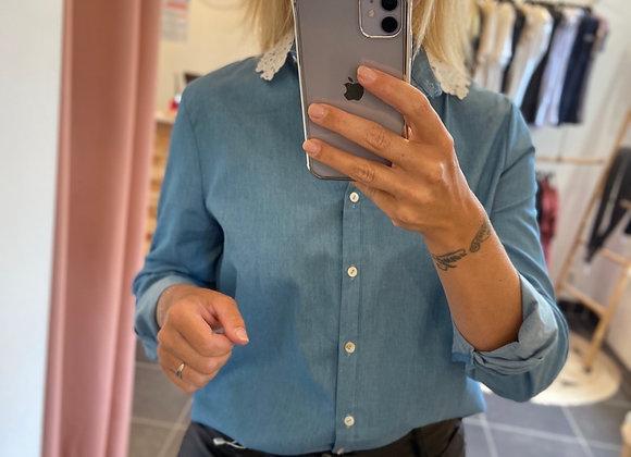 Chemise bleue jean