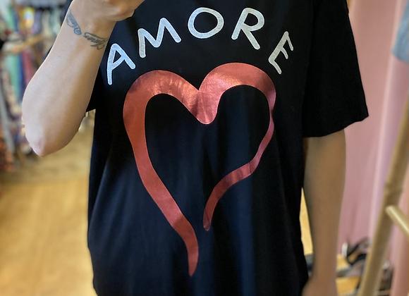 T-shirt long amore