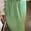Thumbnail: Jupe longue fleurie vert menthe