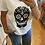 Thumbnail: T-shirt tête de mort mexicaine noire