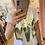Thumbnail: T-shirt court LOVE métallisé
