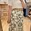 Thumbnail: Jupe longue verte marguerites