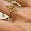 Thumbnail: Bague dorée