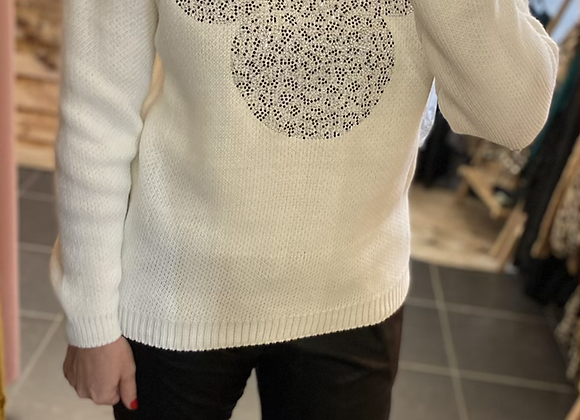 Pull maille Mickey