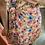 Thumbnail: Robe portefeuille fleurie rose
