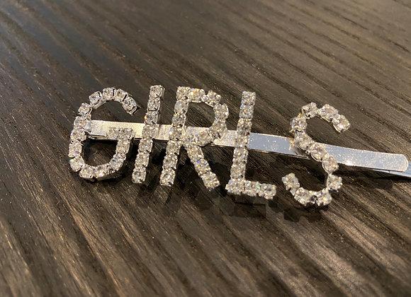 """Barette à cheveux """"GIRLS"""""""