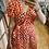 Thumbnail: Robe longue rouge petit coeur