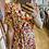 Thumbnail: Robe longue fleurie orange