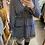 Thumbnail: Robe pied de poule noire