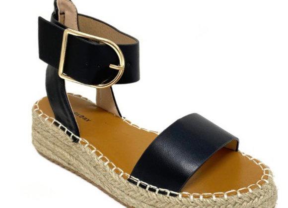 Sandales plateforme espadrille