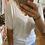 Thumbnail: T-shirt écru dentelle