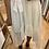 Thumbnail: Robe blanche plumetis asymétrique