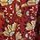Thumbnail: Blouse fleurie rouge