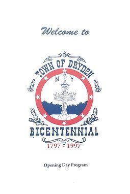 Town of Dryden Bicentennial Program