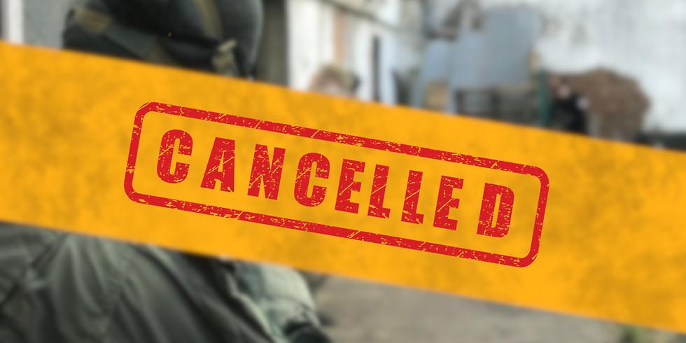 Zaterdag - 14 November - Cancelled!