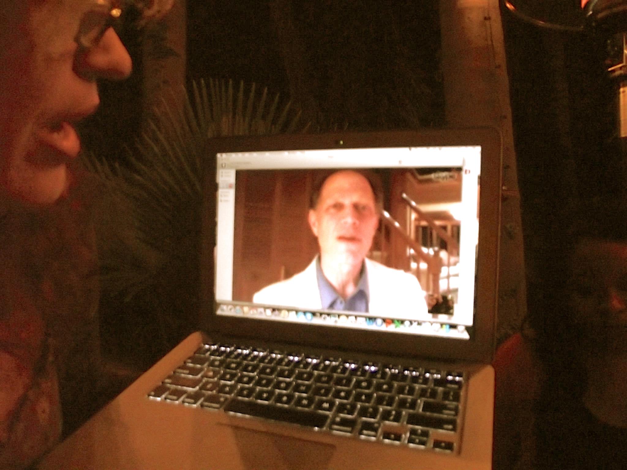 Jeff via Skype