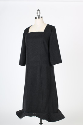 Dress with closed bottom