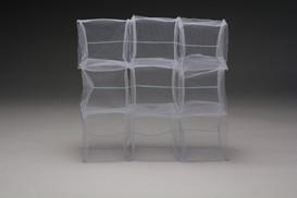 Transparent cubes