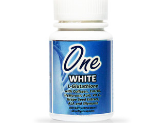 What's in a One White Glutathione Capsule