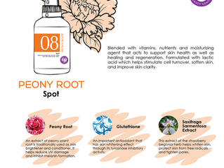 Improve skin clarity with Peony Root Wonder Booster