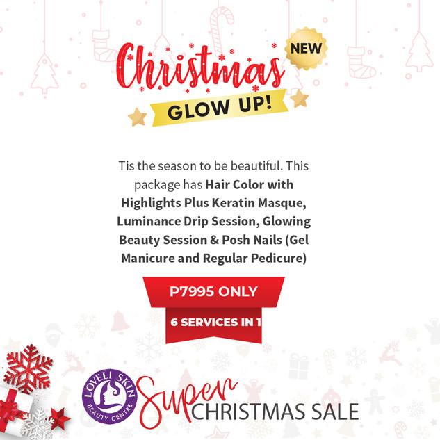 Christmas Glow Up