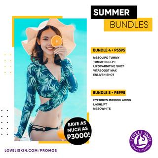 Summer Bundles!