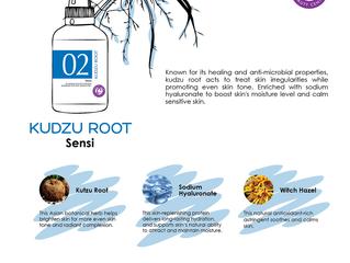 Retain your natural skin tone Kudzu Root