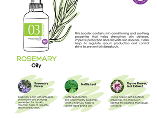 Strengthen your skin defense with  Rosemary Wonder Booster