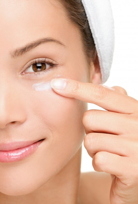 Getting enough sleep is the easiest and most inexpensive way to lessen dark undereye circles.