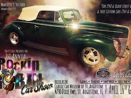 Rockin Robin Swap Meet & Car Show April 16 -17, 2021 (8am-4pm)