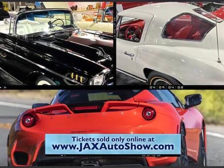 Jacksonville International Auto Show May 7-9, 2021