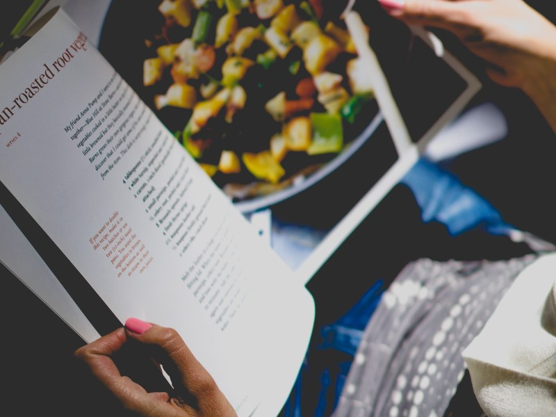 Reading cookbooks and trade magazines is vital, esp. if you are in the F&B industry. Image: Dan Gold | Unsplash