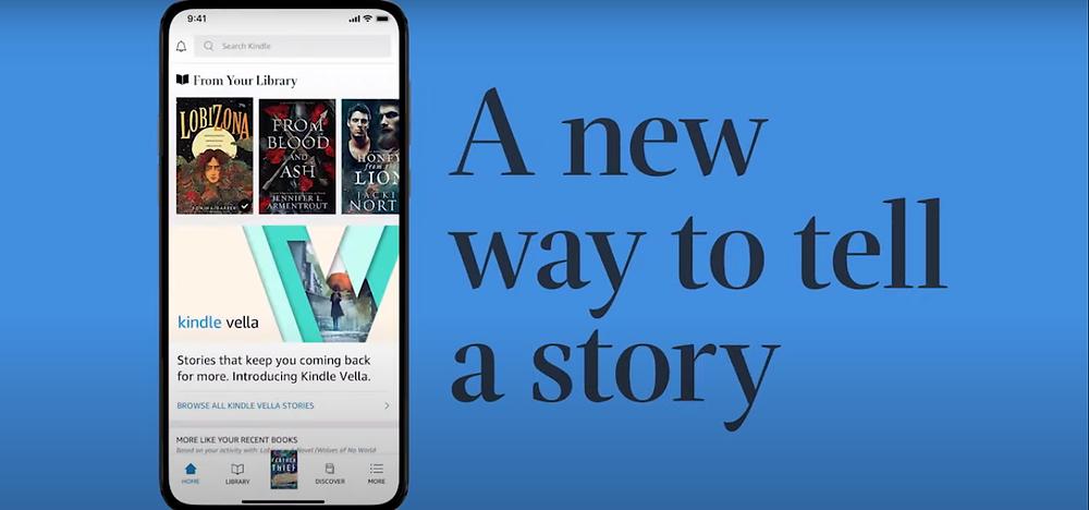 Kindle Vella is a platform for serialised fiction.