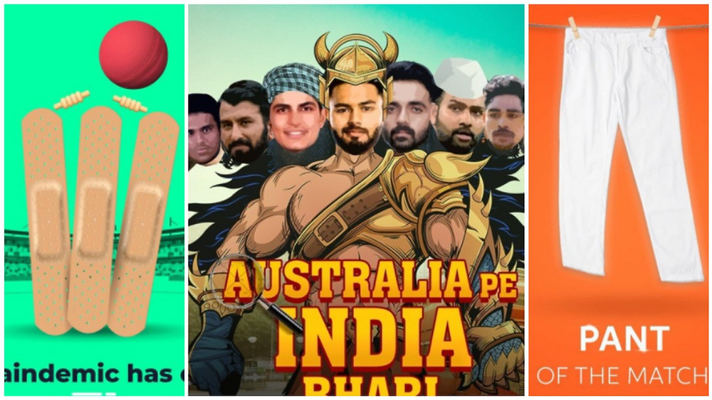 How brands celebrated the epic India vs Australia Test win and what we can learn about copywriting from their ads