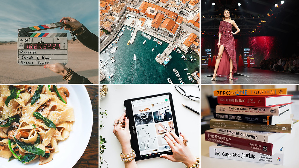 Film or travel, fashion or books, technology or food—there's no dearth of content types and niches to explore.