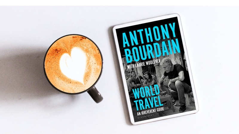 World Travel: An Irreverent Guide spans Bourdain's recommendations from 43 countries.