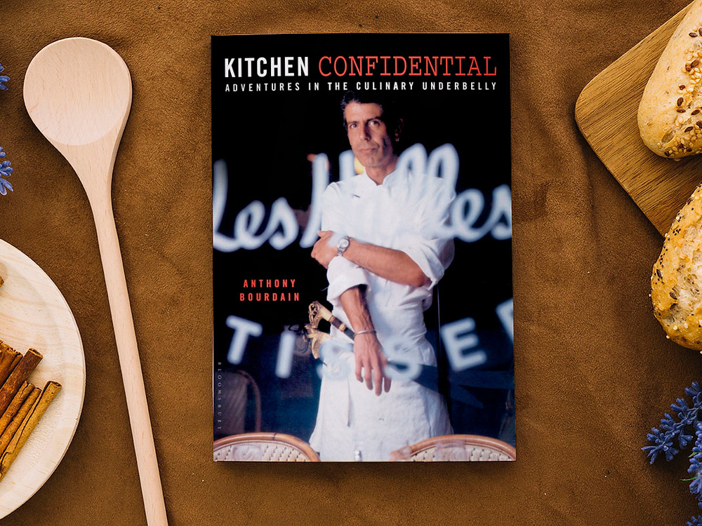 50 business lessons from Anthony Bourdain's 'Kitchen Confidential'
