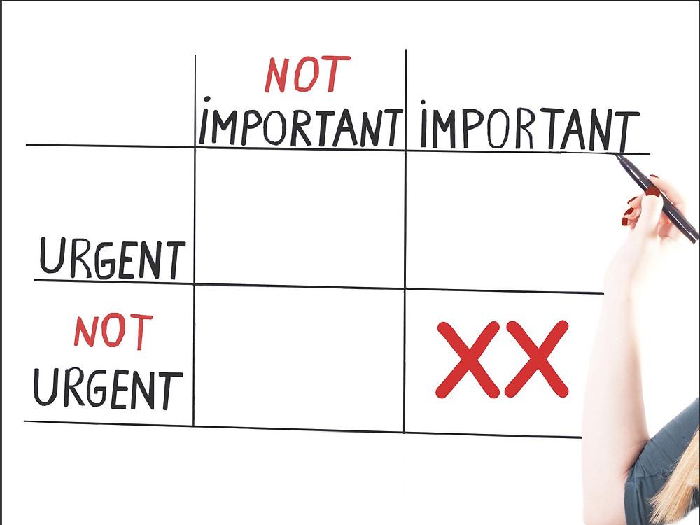 Hall Benefits, LLC - Urgent Necessary Matrix